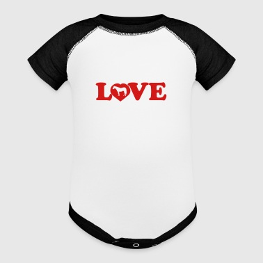 Love Horses - Baby Contrast One Piece