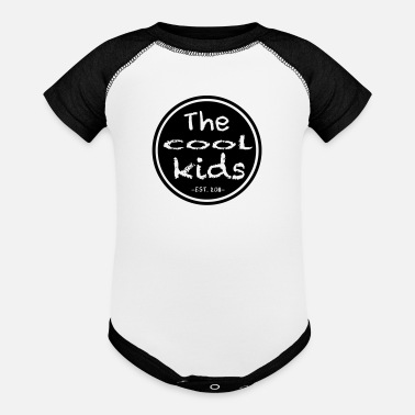 Crew Cool Kids Circle Logo - Baseball Baby Bodysuit
