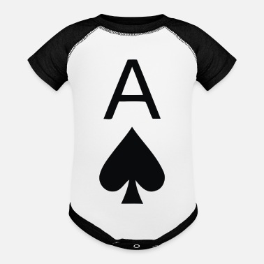 Ace Of Spades Ace Of Spades - Contrast Baby Bodysuit