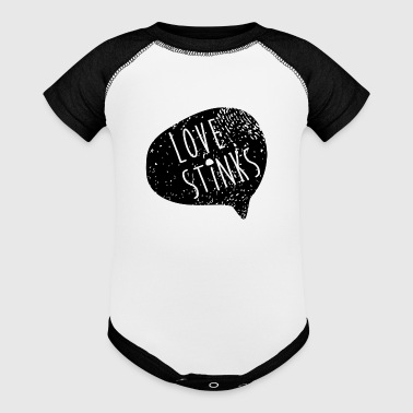 Love Stinks - Baby Contrast One Piece