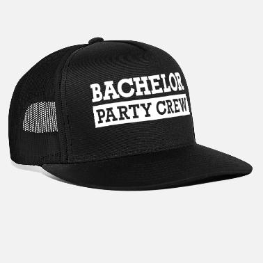 Bachelor Bachelor Party Crew - Trucker Cap