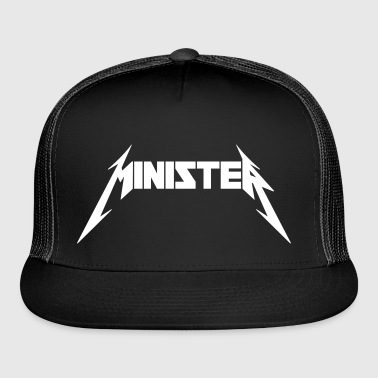 Minister (Rock Band Style) - Trucker Cap