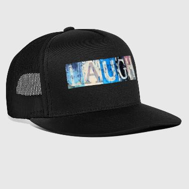 Laugh vintage laugh - Trucker Cap