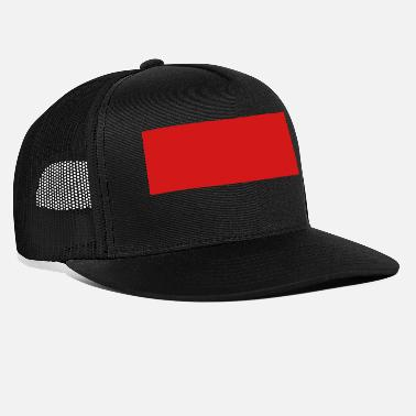 Quadrat Red Stripe Quadrat - Trucker Cap
