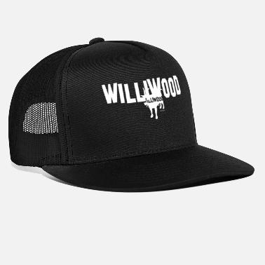 Williwood Logo White - Trucker Cap