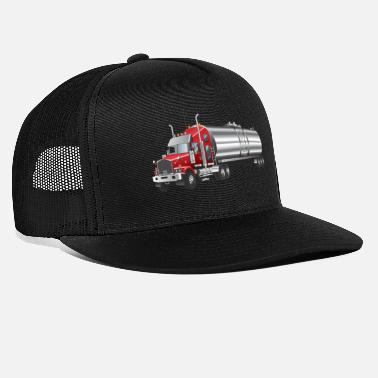 Transport transport truck wagon transportation cars 04 - Trucker Cap