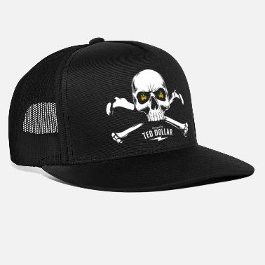 Ted Dollar Pirate skull - Trucker Cap