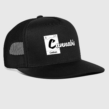 Periodic Table Cannabis Crystal periodic table - Trucker Cap