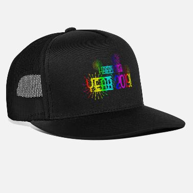 Happy New Year 2019 New Year's Eve Gift T-Shirt - Trucker Cap