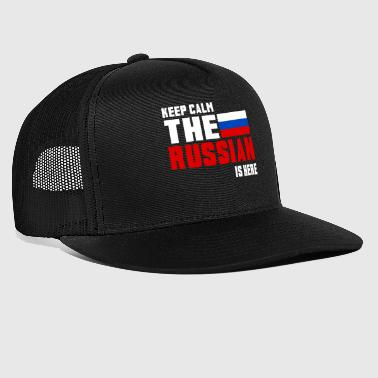 Keep calm the Russian Is here - Trucker Cap