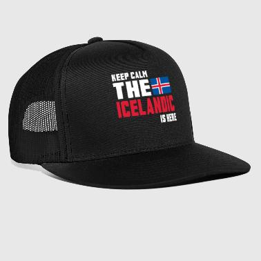 Iceland Horse Keep calm the Icelandic is here - Trucker Cap