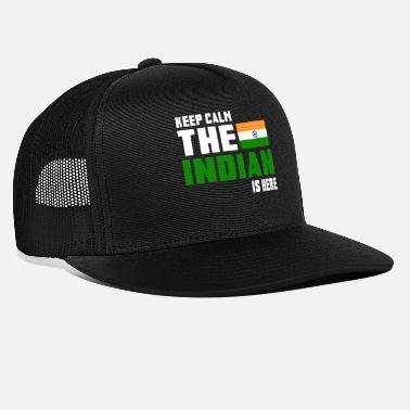 Bangladesh Keep calm the Indian is here - Trucker Cap