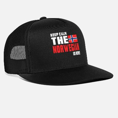 Norwegian Keep calm the Norwegian is here - Trucker Cap