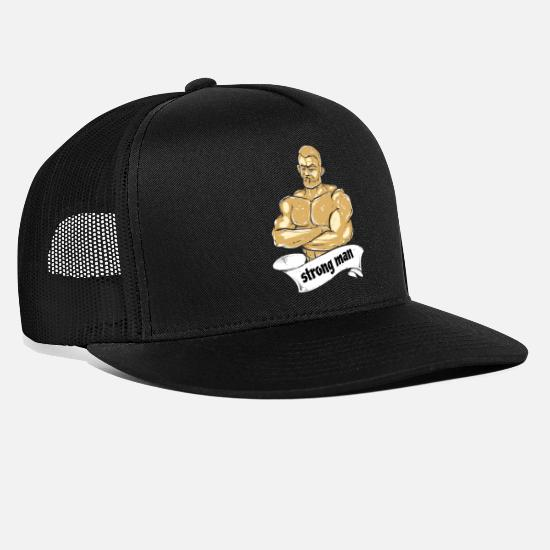 e44fe050562f5 Strongman Trucker Cap | Spreadshirt