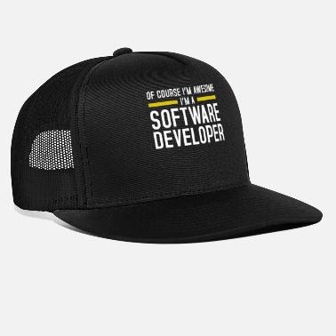 Developer Software Developer - Trucker Cap