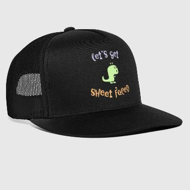Sheet Faces - Trucker Cap