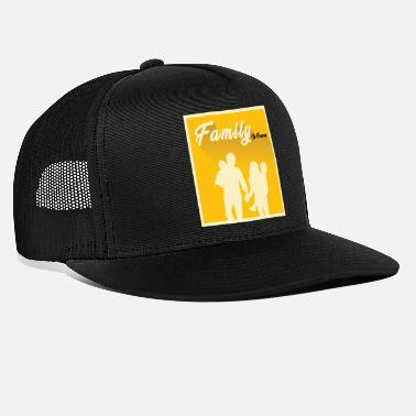 Family Party Family lover Family day Family party holiday gift - Trucker Cap