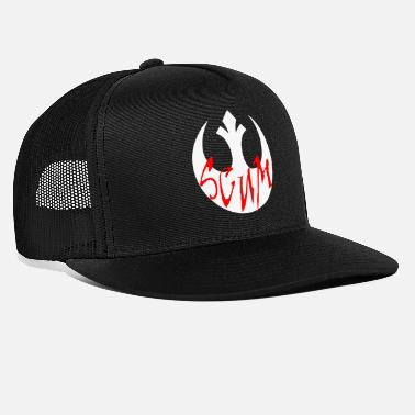 Rebel Flag Rebel Scum - Trucker Cap