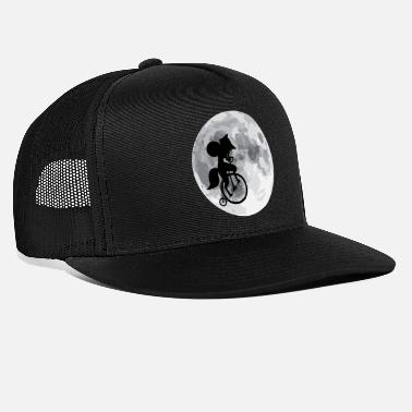 Full Moon Crazy witch full moon - Trucker Cap