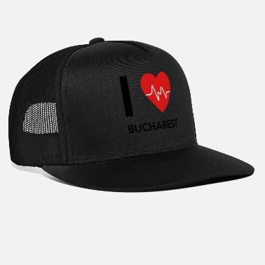 Bucharest I Love Bucharest - Trucker Cap