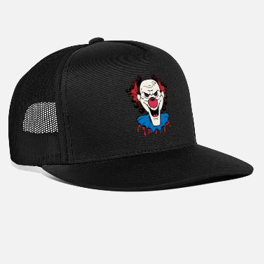 Clown Scary Clown Halloween - Trucker Cap