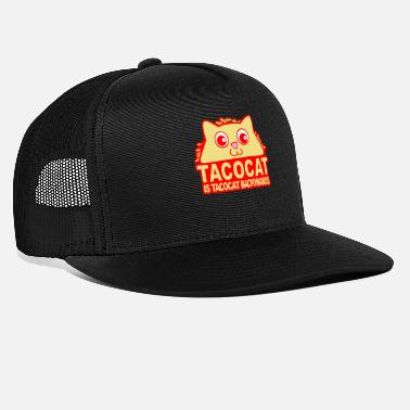 Backwards Tacocat Backwards - Trucker Cap