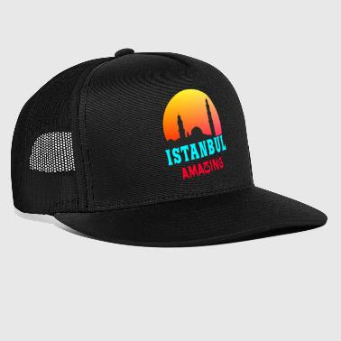 Turk Istanbul Amazing / Sunset Gift City - Trucker Cap