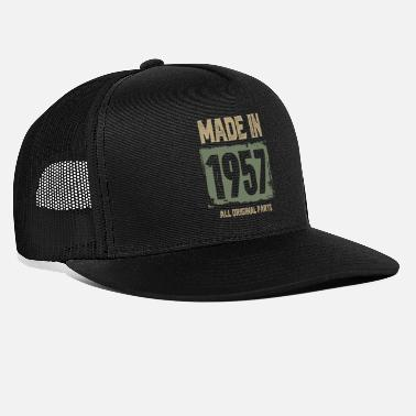Vintage Made In 1957 Made In 1957 - Trucker Cap