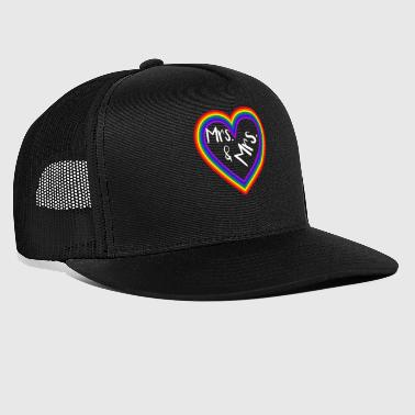 Equality Mrs. and Mrs. Gay Marriage - Trucker Cap