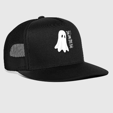 Halloween Scary Sheet - Trucker Cap