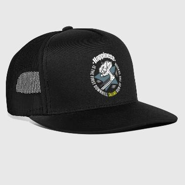 Happiness Skiing Downhill Ski Holidays - Trucker Cap
