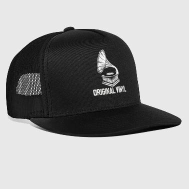Gramophone Record Old School - Trucker Cap