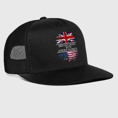 british grown with american roots UK - Trucker Cap