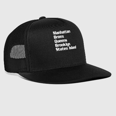 Neighborhood Neighborhoods New York - Trucker Cap