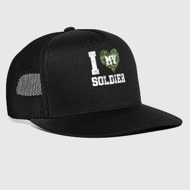 Wife of a soldier - Trucker Cap
