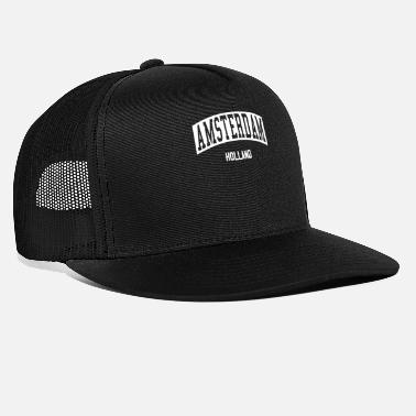 Holland Amsterdam Holland - Trucker Cap