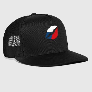 Lips sexy Czech Flag Prague gift - Trucker Cap