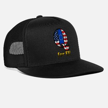 Eu Q for EU - Trucker Cap