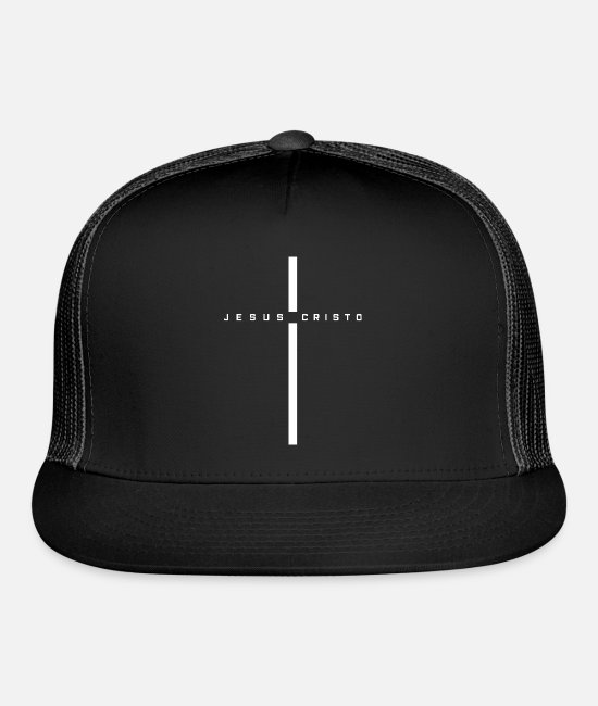 Jesus Caps & Hats - Jesus Christ - Trucker Cap black/black