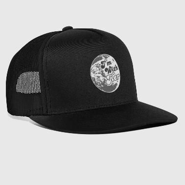 Mother Earth I'm With Her Mother Earth - Trucker Cap