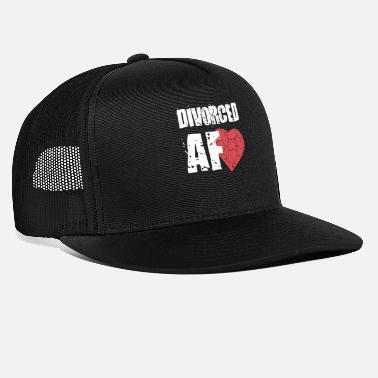 Divorce divorced - Trucker Cap