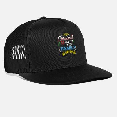 Celebrate & party in Christmas eve holiday w/ fam - Trucker Cap