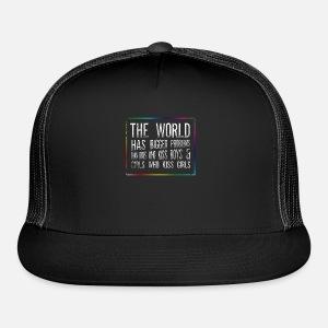 33e243574dc The World Has Bigger Problems Snapback Cap