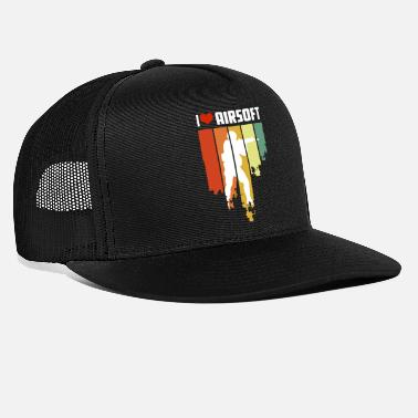 I Love Airsoft I Love Airsoft Distressed Edition - Trucker Cap