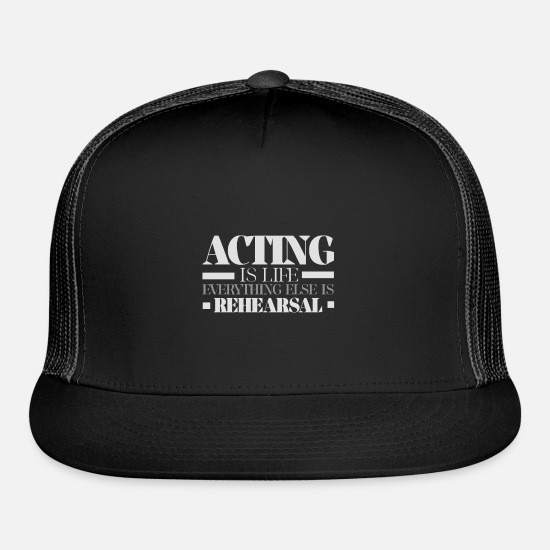Actor Caps - Actor Life - Trucker Cap black/black