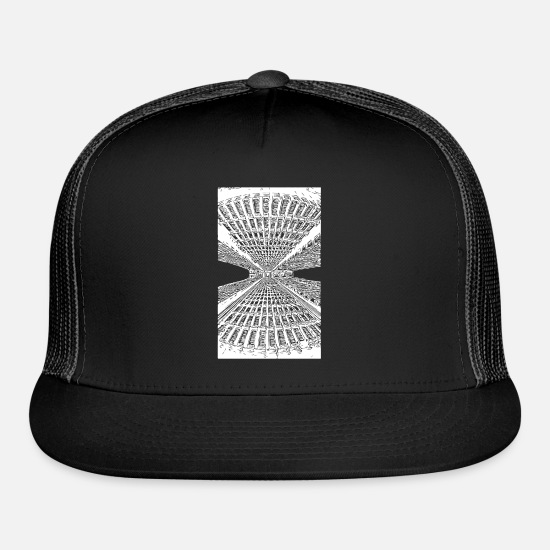 Style Of Music Caps - Lines - Trucker Cap black/black