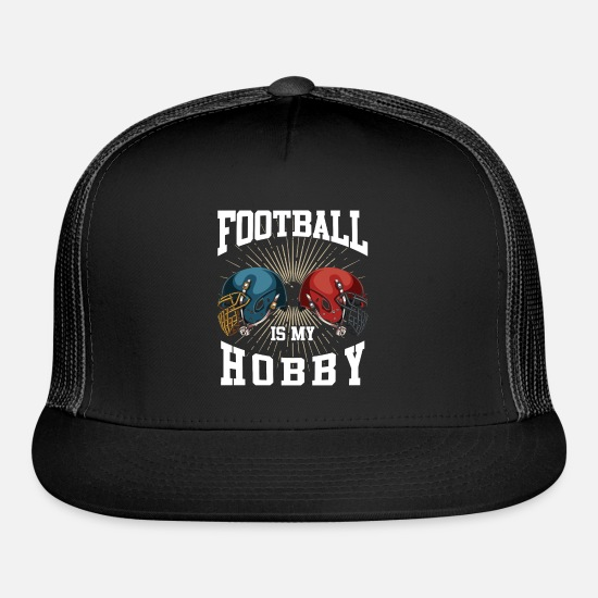 American Football Caps - Football - Trucker Cap black/black
