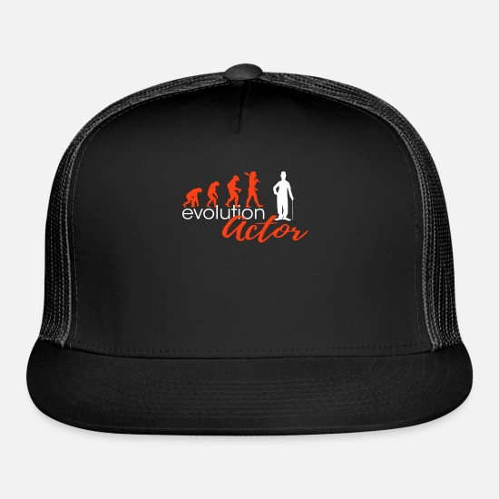 Actress Caps - Actor Evolution Designers Edition - Trucker Cap black/black