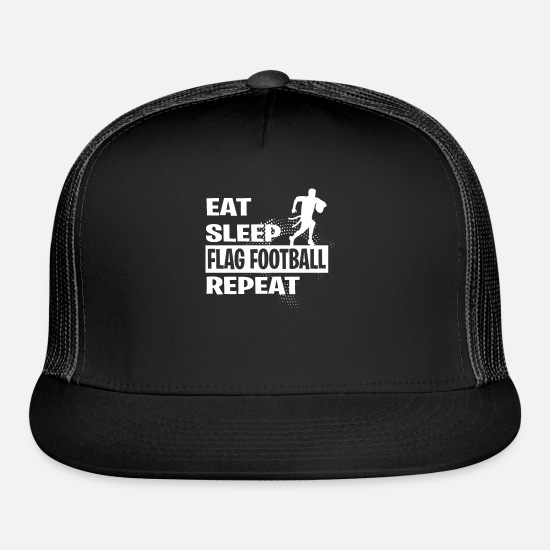 Flag Caps - FLAG FOOTBALL - Trucker Cap black/black