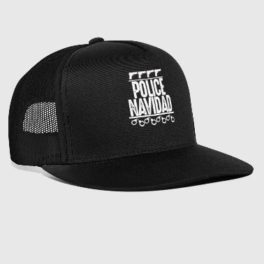 Police Police, Policeman, Weapon - Trucker Cap